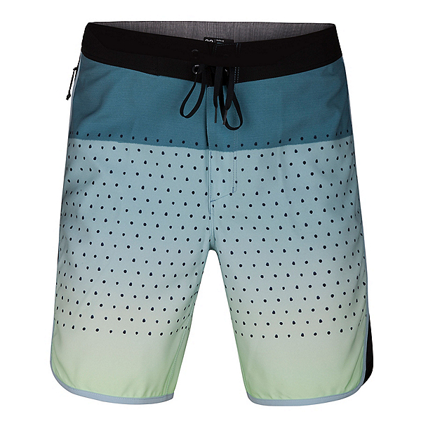 Hurley Phantom Motion Third Reef Mens Board Shorts, Ocean Bliss, 600