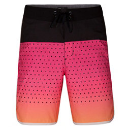 Hurley Phantom Motion Third Reef Mens Board Shorts, Hyper Pink, 256