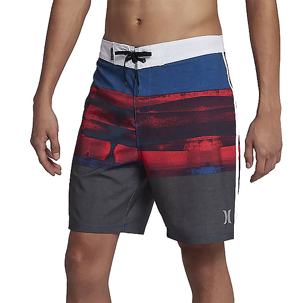 Hurley Phantom Roll Out Mens Board Shorts, Anthracite, 600