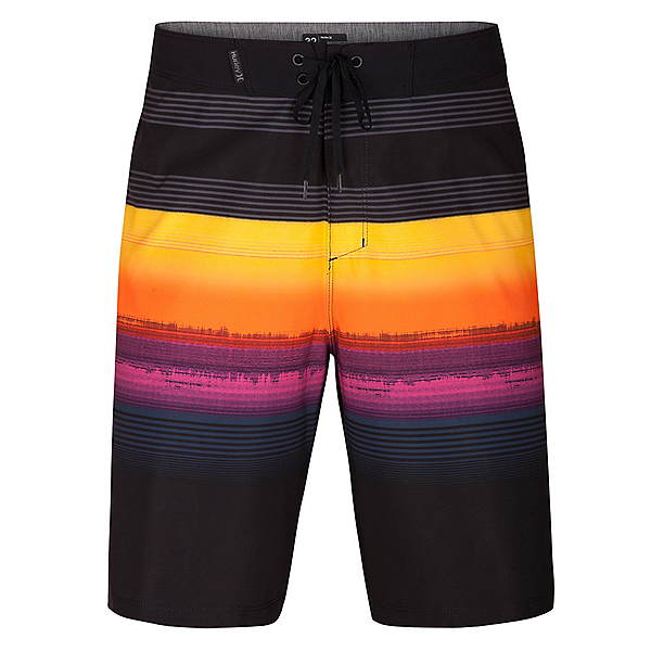 Hurley Phantom Gaviota Mens Board Shorts, Black, 600