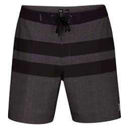Hurley Phantom Blackball Beater Mens Board Shorts, Black, 256