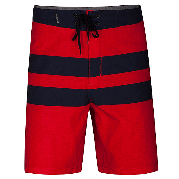 Hurley Phantom Blackball Beater Mens Board Shorts, Speed Red, 600