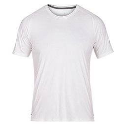 Hurley Icon Quick Dry Short Sleeve Mens Rash Guard, White, 256