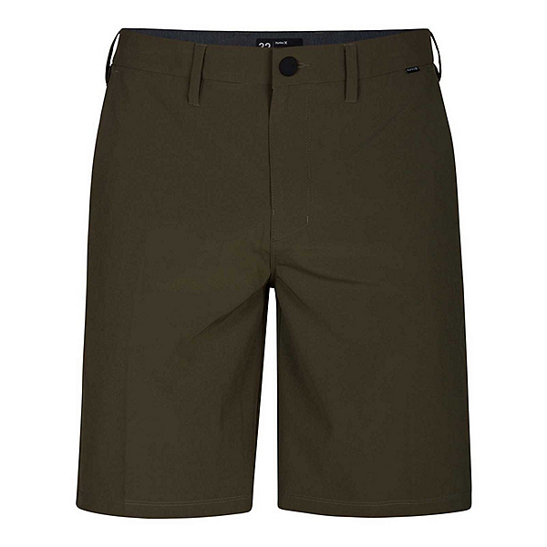 Hurley Phantom 20in Mens Hybrid Shorts 2019, Medium Olive, 600