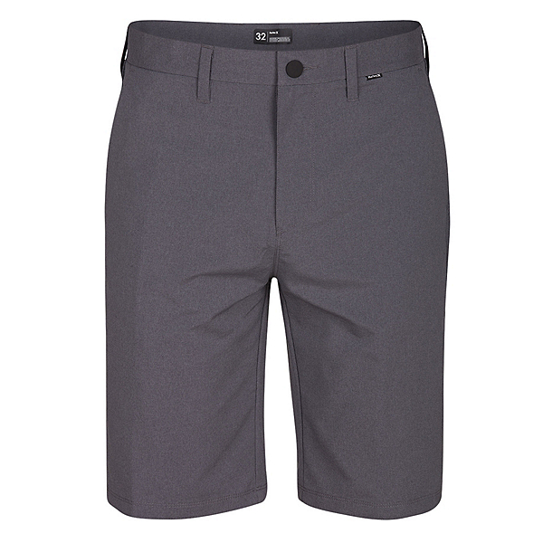 Hurley Dri-FIT Chino Heather Mens Hybrid Shorts, Black, 600