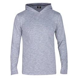 Hurley Dri-FIT Lagos Mens Hoodie, Dark Grey, 256