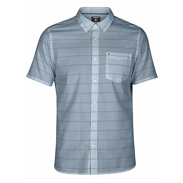 Hurley Dri-FIT Reeder Short Sleeve Mens Shirt, , 600
