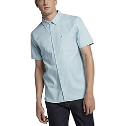 Hurley Dri-FIT One and Only Short Sleeve Mens Shirt, Ocean Bliss, 256