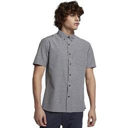 Hurley Alchemy Short Sleeved Mens Shirt, Black, 256