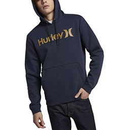 Hurley Surf Check One and Only Mens Hoodie, Obsidian, 256