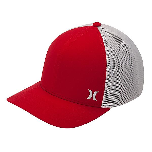 Hurley Milner Trucker Hat, Gym Red-White, 600