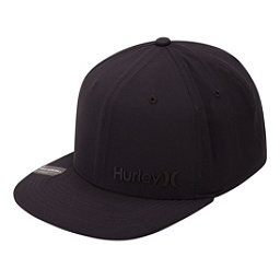 Hurley Phantom Corp Hat, Black-Black, 256