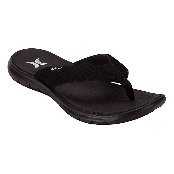 Hurley Flex 2.0 Mens Flip Flops, Black, 600