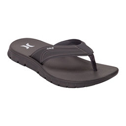 Hurley Fusion 2.0 Mens Flip Flops, Dark Grey, 256