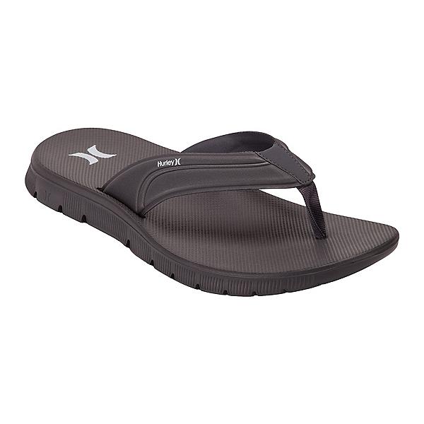 Hurley Fusion 2.0 Mens Flip Flops, Dark Grey, 600