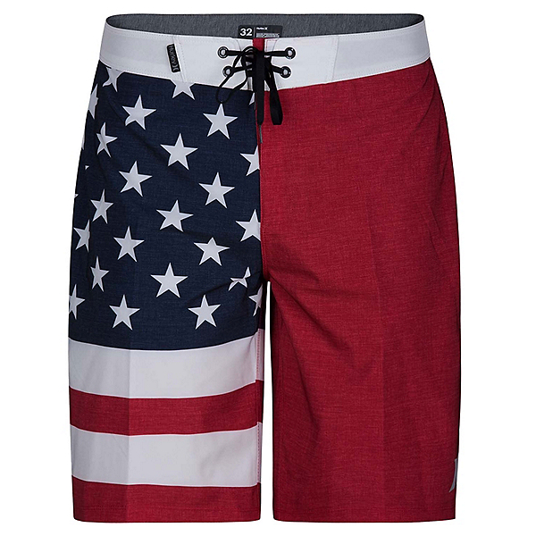 Hurley Phantom Cheers 20 Inch Mens Board Shorts, Gym Red, 600
