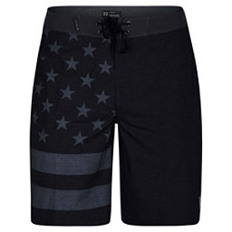 Hurley Phantom Cheers 20 Inch Mens Board Shorts, Black, 256