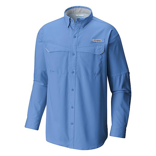 Columbia Low Drag Offshore Long Sleeve Mens Shirt, White Cap, 600