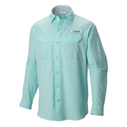 Columbia Low Drag Offshore Long Sleeve Mens Shirt, Gulf Stream, 256