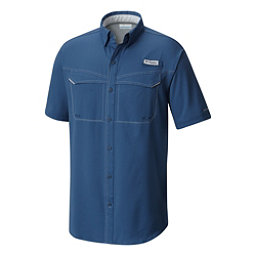 Columbia Low Drag Offshore Short Sleeve Mens Shirt, Night Tide, 256
