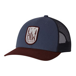 Columbia Mesh Snap Back Hat, Whale-Pnw Patch, 256