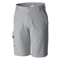 Columbia Terminal Tackle Mens Shorts, Cool Grey-Grill-Vivid Blue, 256
