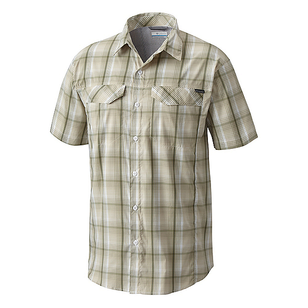 Columbia Silver Ridge Lite Plaid Short Sleeve Mens Shirt, , 600