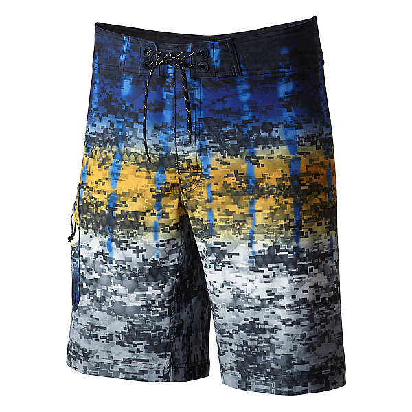 Columbia PFG Offshore Camo Fade Mens Board Shorts, , 600