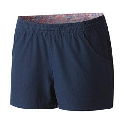 Columbia Tidal Womens Board Shorts, Collegiate Navy, 256