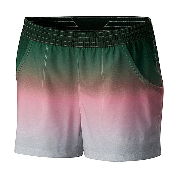 Columbia Tidal Womens Board Shorts, Rainbow Trout Fade, 600