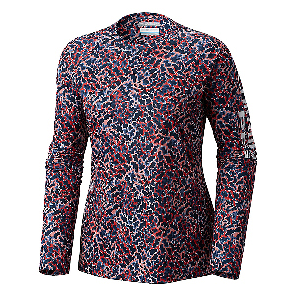 Columbia Super Tidal Tee Long Sleeve Womens Shirt, , 600