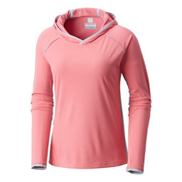 Columbia Ultimate Catch Zero II Womens Hoodie, Lollipop-Cirrus Grey, 256