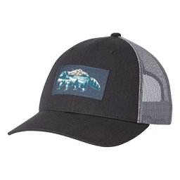 Columbia Snap Back Womens Hat, Shark-Racoon Patch, 256