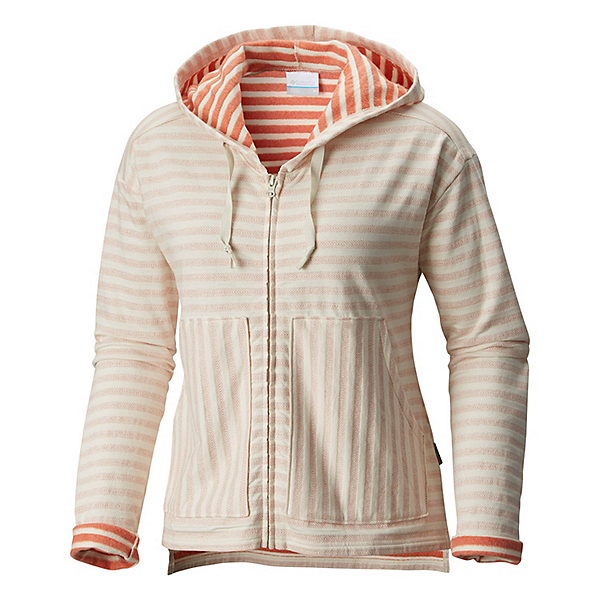 Columbia Longer Days Full Zip Womens Hoodie, , 600