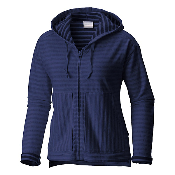 Columbia Longer Days Full Zip Womens Hoodie, Nocturnal, 600