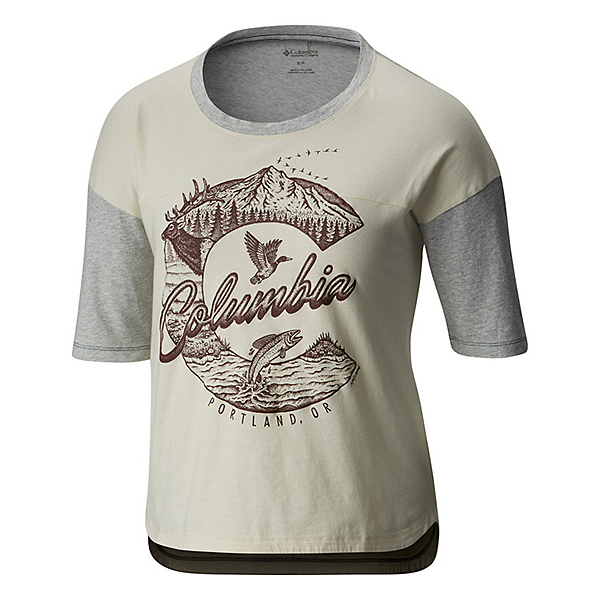 Columbia CSC 503 Graphic Womens T-Shirt, , 600