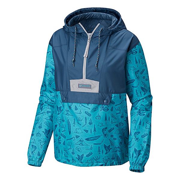 Columbia PNW Flashback Windbreaker Womens Jacket, , 600