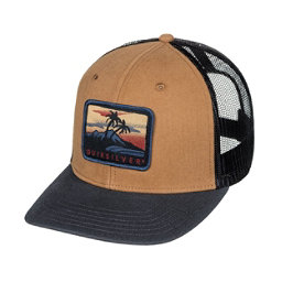 Quiksilver Blocked Out Hat, Wood Thrush, 256