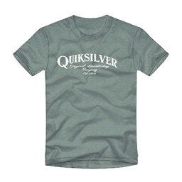 Quiksilver Golden Session Mens T-Shirt, Trellis Heather, 256