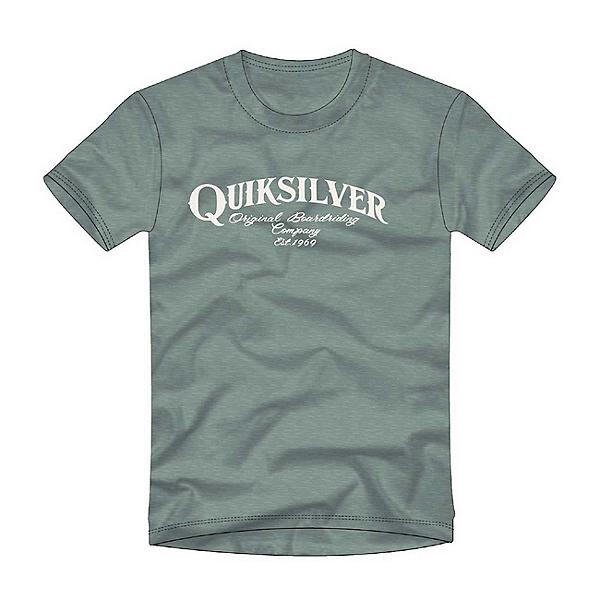 Quiksilver Golden Session Mens T-Shirt, Trellis Heather, 600