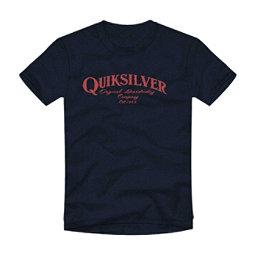 Quiksilver Golden Session Mens T-Shirt, Navy Blazer Heather, 256