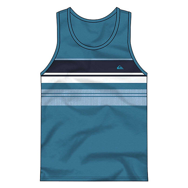 Quiksilver Swell Vision Tank Top, Malibu Heather, 600
