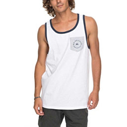 Quiksilver Camino Pocket Tank Top, White, 256