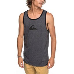 Quiksilver MW Logo Tank Top, Charcoal Heather, 256