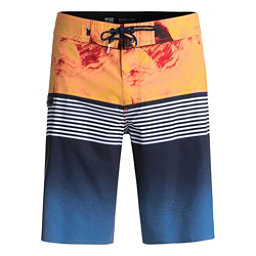 Quiksilver Highline Lava Division Mens Board Shorts, Navy Blazer, 256