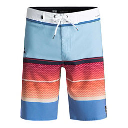 Quiksilver Highline Slab Mens Board Shorts, Dusk Blue, 256