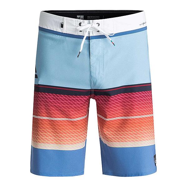 Quiksilver Highline Slab Mens Board Shorts, Dusk Blue, 600