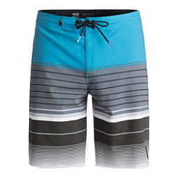 Quiksilver Swell Vision Beachshort Mens Board Shorts, Atomic Blue, 256