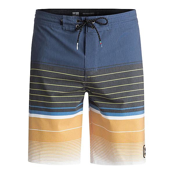 Quiksilver Swell Vision Beachshort Mens Board Shorts, Vintage Indigo, 600