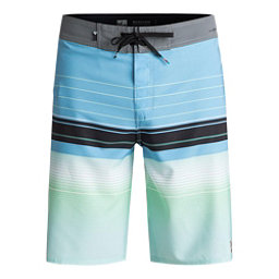 Quiksilver Highline Swell Vision Mens Board Shorts, Bonnie Blue, 256